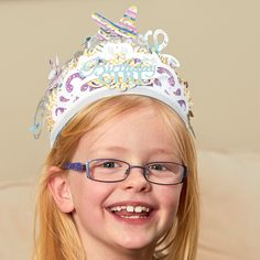 Birthday crowns for girls! Make Her Majesty royalty for a day.