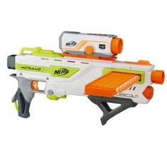 Browse all NERF blaster toys, foam darts, accessories, and sports products. NERF toys encourage kids to get outdoors and active, perfect for the warmer months! Pistola Nerf, Cool Nerf Guns, Nerf Toys, Nerf War, Airsoft Guns, Weapons Guns, Christmas Toys, Christmas 2016, Workout Exercises