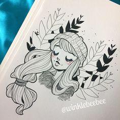 Character Design Illustration By Winklebeebee@ Instagram