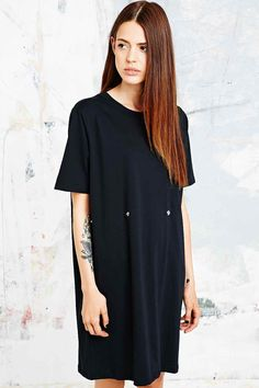 Cheap Monday - Robe t-shirt Dark noire