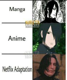 Lol wow harry potter and the Naruto fandom Manga Naruto, Naruto Comic, Naruto Shippuden Sasuke, Naruto Art, Boruto, Itachi, Anime Meme, Funny Anime Pics, Otaku Anime