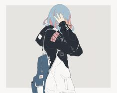 Anime Art Girl, Manga Girl, Kawaii Art, Kawaii Anime, Pretty Art, Cute Art, Aesthetic Art, Aesthetic Anime, Arte Peculiar
