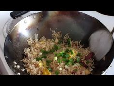 Special Chinese Fried Rice: Fast Chinese Cooking In A Wok - YouTube