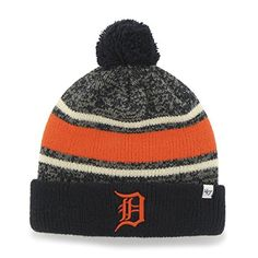 the best attitude e95e3 8fac1 Detroit Tigers Fairfax Cuff Knit Navy 47 Brand Hat - Great Prices And Fast  Shipping at Detroit Game Gear