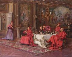 Marcel Brunery Cardinal Paintings, Roman Church, Marcel, Cardinals, Catholic, College, Image, Art, Art Background