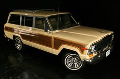 My mom drove this car back in the day - I miss that Jeep Waggoneer with the wood paneling!