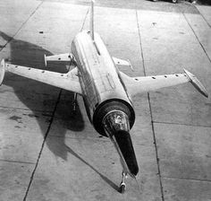 The Leduc 0.22 was the prototype of a Mach 2 fighter built in France in 1956.