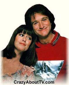Mork and Mindy - you've come a long way, Robin Williams!