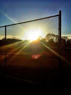 Baseball Field Sunset by Sara on Softball Things, Softball Quotes, Softball Pictures, Softball Photography, Sunset Photography, Helmet Hair, Chuuya Nakahara, Mirror Pic, Sunset Pictures
