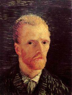 13. Vincent van Gogh, Self-Portrait, 1887