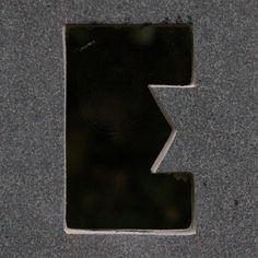 letter E, via Flickr.