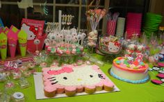 Cómo Decorar un Fiesta de Hello Kitty Party Ideas : Fiestas Infantiles Decoracion