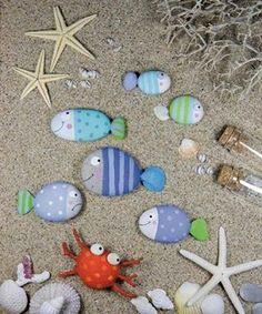 Peixes de pedras