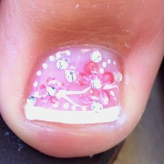 The most decorated toe I have ever seen