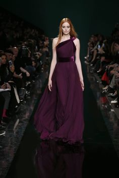 ELIE SAAB Ready-to-Wear Fall Winter 2014-2015.  If only I had a place to wear something like this.