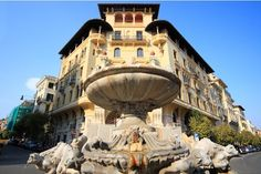 Quartiere Coppedè, Rome.  Where imagination has created a masterpiece.