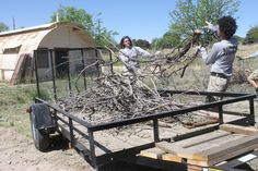 (Press Staff Photos by Benjamin Fisher) Above, AmeriCorps team members Luke Anderson and Emanuel Garcia-Neyers clean up brush piles at Fort Bayard during their first day on site, surrounded by many of the decaying structures at the historic site. Silver City, Historical Sites, Fisher, Outdoor Decor, Photos, Pictures, Photographs, Cake Smash Pictures