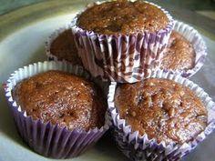 Chocolate Banana Zucchini Chocolate Chip Muffins