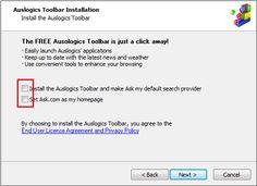Installazione Auslogic Disk Defrag - Opzioni Extra