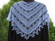 Ravelry: Oceana Shawl pattern by Anna Victoria