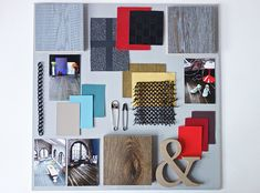 3 Commissioned moodboards-Urban Contrast Style -Eclectic Trends #moodboard