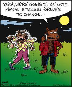 Off the Mark von Mark Parisi für den Oktober 2013 - choch - halloween quotes Halloween Games Adults, Halloween Cartoons, Halloween Fun, Halloween Humor, Modern Halloween, Funny Cartoons, Funny Comics, Funny Jokes, Hilarious