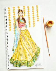indische mode skizziert kleider The post Indian Fashion Sketches Dresses Indische Mode Skizziert Kleider appeared first on Lynne Seawell& World. Dress Design Sketches, Fashion Design Sketchbook, Fashion Design Drawings, Fashion Sketches, Fashion Drawing Dresses, Fashion Illustration Dresses, Dress Illustration, Indian Illustration, Fashion Illustrations
