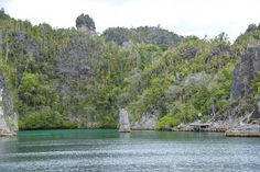 The jetty where we start our climb, Raja Ampat - one of 4 things to see before you die #Indonesia