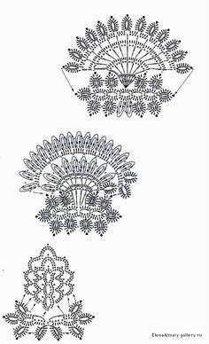 DODA CROCHET: Motivi Pizzo Irlanda - Irish Crochet patterns