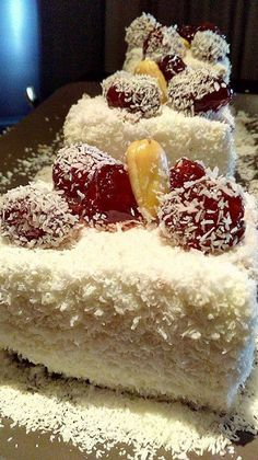 Cookbook Recipes, Cookie Recipes, Dessert Recipes, Sweet Little Things, Food Gallery, Summer Cakes, Sweet Cakes, Aesthetic Food, Greek Recipes