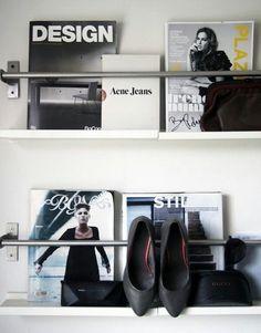 Ikeas Handdukshållare för skor