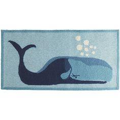 Whale Blue Rug