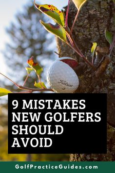 Learn the mistakes new golfers should avoid making in golf as a beginner. Here are some quick tips and mental game of golf tips to think about. #golf #golftips