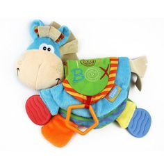 NEW Baby Soft Toys Cute Donkey Animal Cloth Book For Toddler Learning Education #Doesnotapply