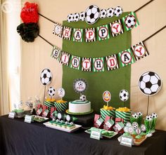 Soccer Birthday Party Package Personalized MINI by venspaperie, $29.00