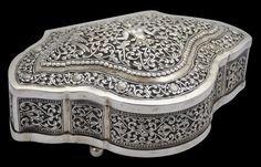 Sri Lankan Silver Box