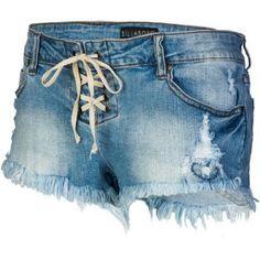 Billabong Womens Lite Hearted- Stripe Short #jeans #beach #junkydotcom