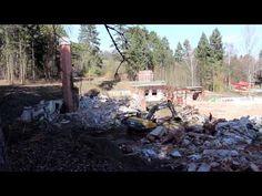 Búranie kryté bazény Čajka Bojnice