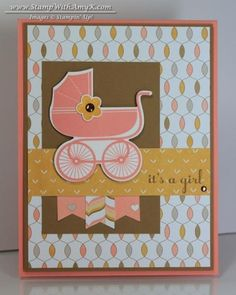 Something for Baby It's a Girl by amyk3868 - Cards and Paper Crafts at Splitcoaststampers
