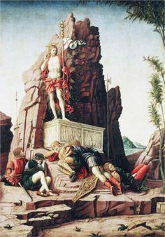 The Resurrection  -  Andrea Mantegna