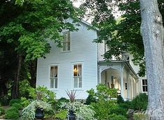 This house - interior and exterior - perfection. kevin reiner ohio farmhouse