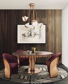 Fantastic USA contemporary home decor and mid-century modern lighting ideas from DelightFULL |  www.delightfull.e…  | Visit for more inspirations about: modern interior design, best interior designers, interior design, design trends, luxury lighting, mid-century lighting, de ..