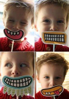 bocas divertidas