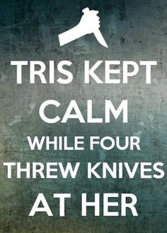 "Divergent Inspired ""Keep Calm"" poster"