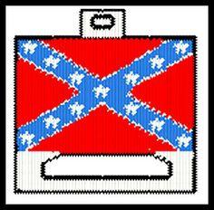 Rebel Flag Tissue Box | 3597 TISSUE COVER SUNFLOWER QUILT