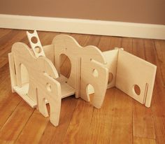 Elephant Toy House // A Classic Dollhouse for by manzanitakids