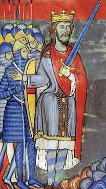 Henry II, 1154-1189, is considered by some to be the first Plantagenet king of England.