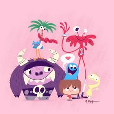 fosters home for imaginary friends - Google Search