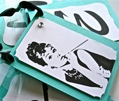 NEW Breakfast At Tiffany's Large Banner, Audrey Hepburn, Wedding, Party Supplies -$45.00