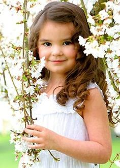 Spring day in the country... precious girl